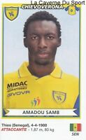 Amadou Samb Senegal Chievo Verona Rare Update Sticker Calciatori 2011 Panini