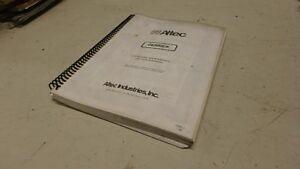 ALTEC DIGGER DERRICK OPERATORS & PARTS MANUAL Ci118   eBay