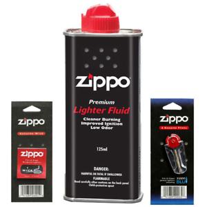Original-Zippo-Lighter-Fuel-Fluid-Petrol-UK-SELLER-Brand-New