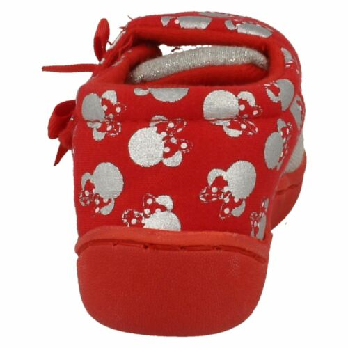 £4.99 Retail Price Girls Strand Minnie Mouse Red//Silver Slipper by Disney