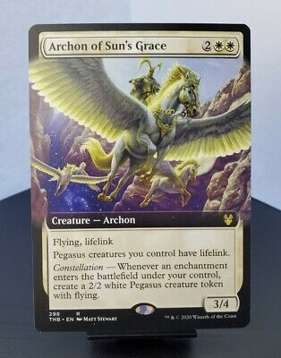 4 ARCHON OF SUN/'S GRACE ~mtg NM-M Theros Beyond Death Rare x4