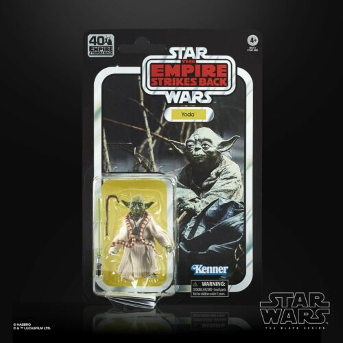 The Empire Strikes Back Star Wars Black Series 40th Anniversary Wave 1 Yoda