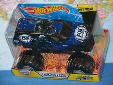 1/24 HOT WHEELS MONSTER JAM TRUCK CLEATUS FOX SPORT 1 DIECAST OFF-ROAD NEW VHTF