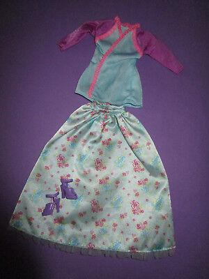 Buono 354) Età Barbie-rock Label + Top Label Mattel Label + Alta Scarpe Viola-mostra Il Titolo Originale