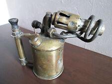ANCIENNE LAMPE A SOUDER EN LAITON max sievert 20 cm