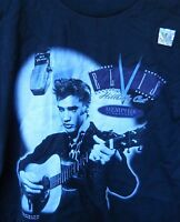 Classic Elvis Hillbilly Club Tee-shirt Size Small Color Is Black