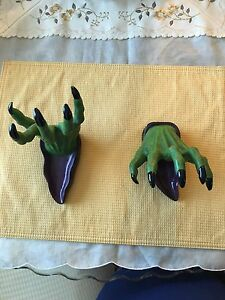 Image Is Loading Grandin Road Witch Spooky Hands Halloween Haven Home