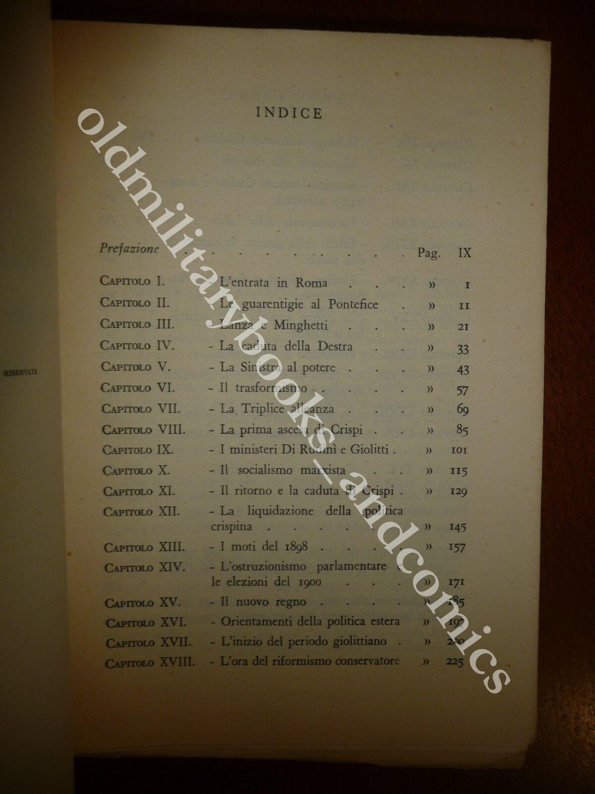 LA POLITICA ITALIANA DA PORTA PIA A VITTORIO VENETO (1870 - 1918) IVANOE BONOMI