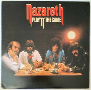 NAZARETH-PLAY-N-THE-GAME-LP-MOUNTAIN-UK-1976-EX-CONDITION-PRO-CLEANED