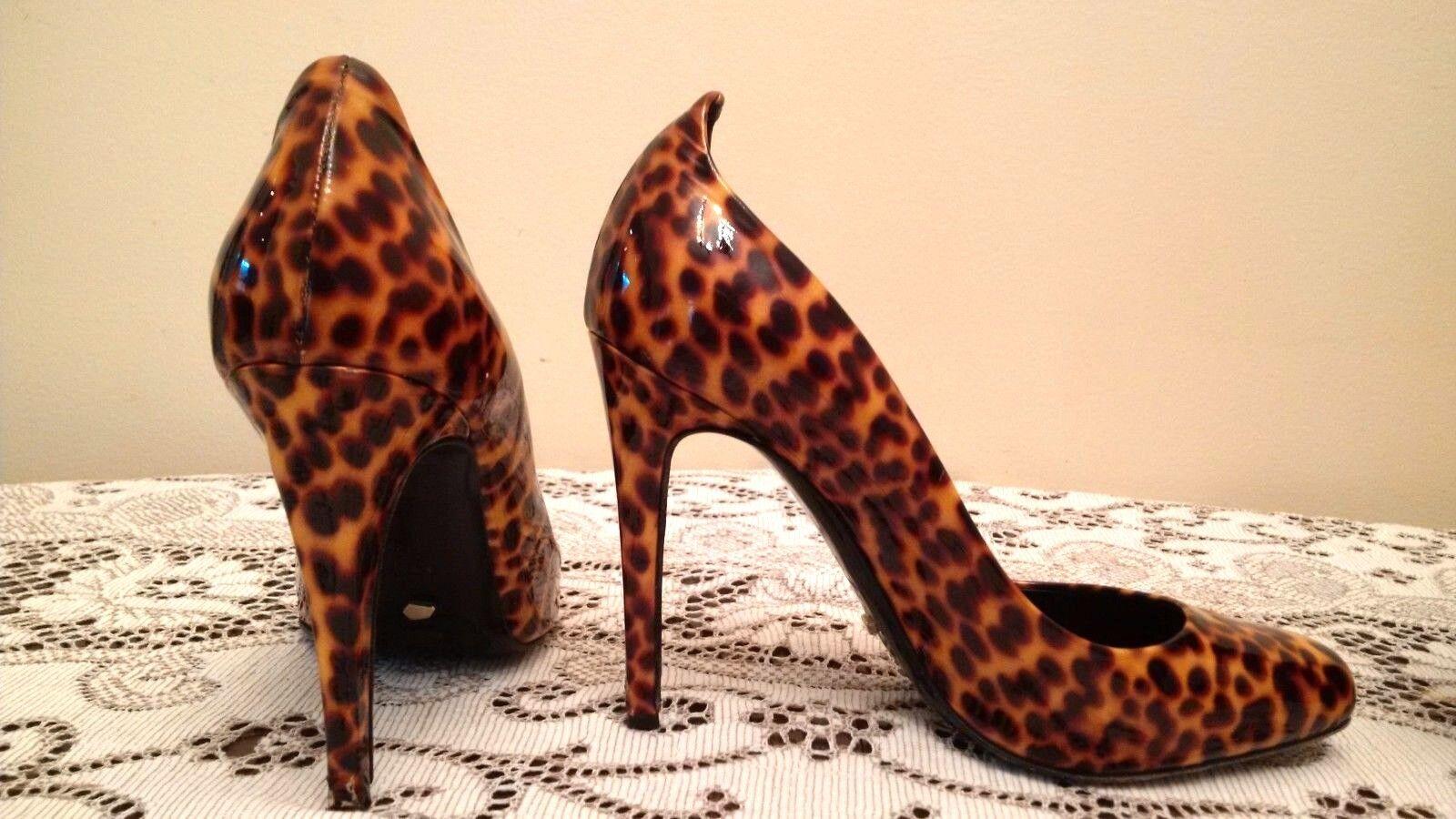 Jerome C. Rousseau Vero Cuoio - Leopard Print Heels