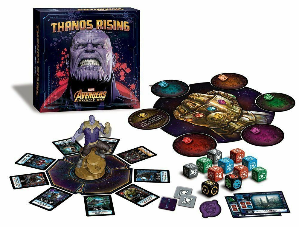 Marvel Thanos Rising Avengers Infinity War Board Game
