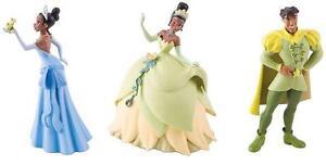 12PERSONAGGI DISNEY LA PRINCESA Y EL RANA - Personajes BULLYLAND Disney