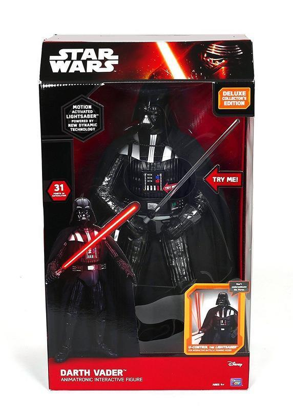 Star Wars figurine Interactive DELUXE Collector's Edition Dark Vador 44 cm 54870
