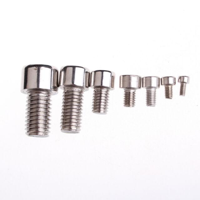 5 Pcs Stainless Steel Hexagon Socket Head Cap Screws Male Thread M5 45mm Long