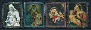 British Colonies & Territories Ascension 1990 Works Of Art Sg527/30 Mnh