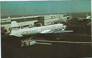 CONTINENTAL AIRLINES   DC6B   POST CARD