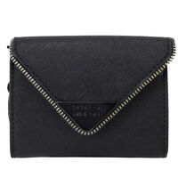 Rebecca Minkoff Molly Metro Leather Wallet - Black on sale