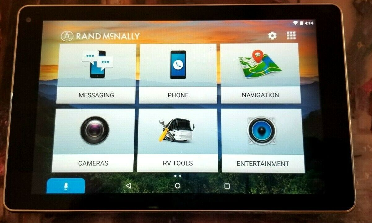 Rand Mcnally Overdryve 7 Rv Gps Tablet With Built In Dash Cam For Sale Online