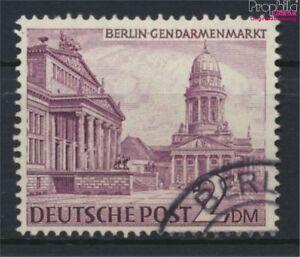Berlin-West-58X-fallendes-Wasserzeichen-gestempelt-1949-Berliner-Bau-9233323