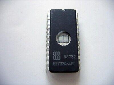 M2732AF1 ST MICRO EPROM UV 32K-bit 4K x 8 250ns 24-Pin 2 PIECES