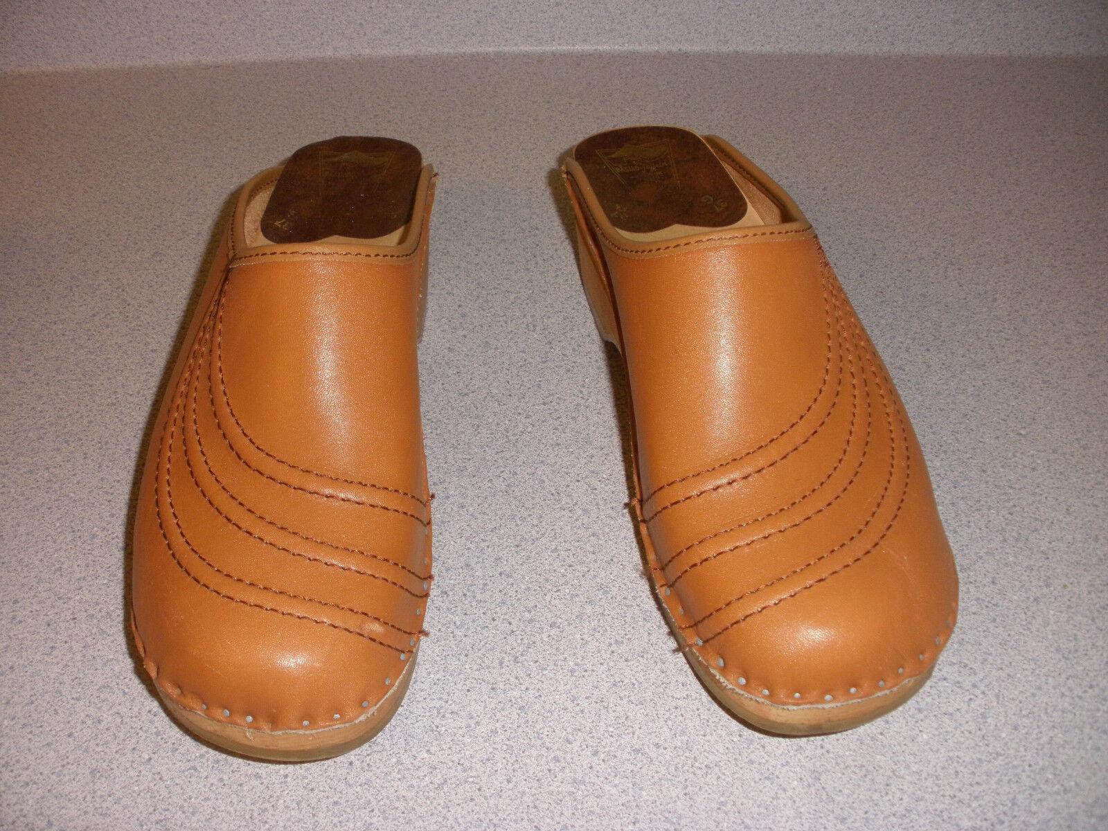 Bastad-joffeln Mujer Zapatos Zuecos sueco 37G 37G 37G 6.5 tan  calidad garantizada