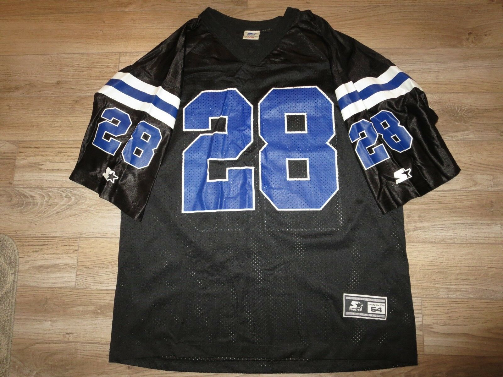 Marshall Faulk  28 Indianapolis Colts NFL Negro Edición Starter Camiseta 2XL 2x