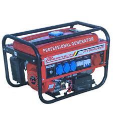 Rocwood Petrol Generator 2800w 3.4 KVA 8HP 6500W Recoil Start Plus FREE Torch