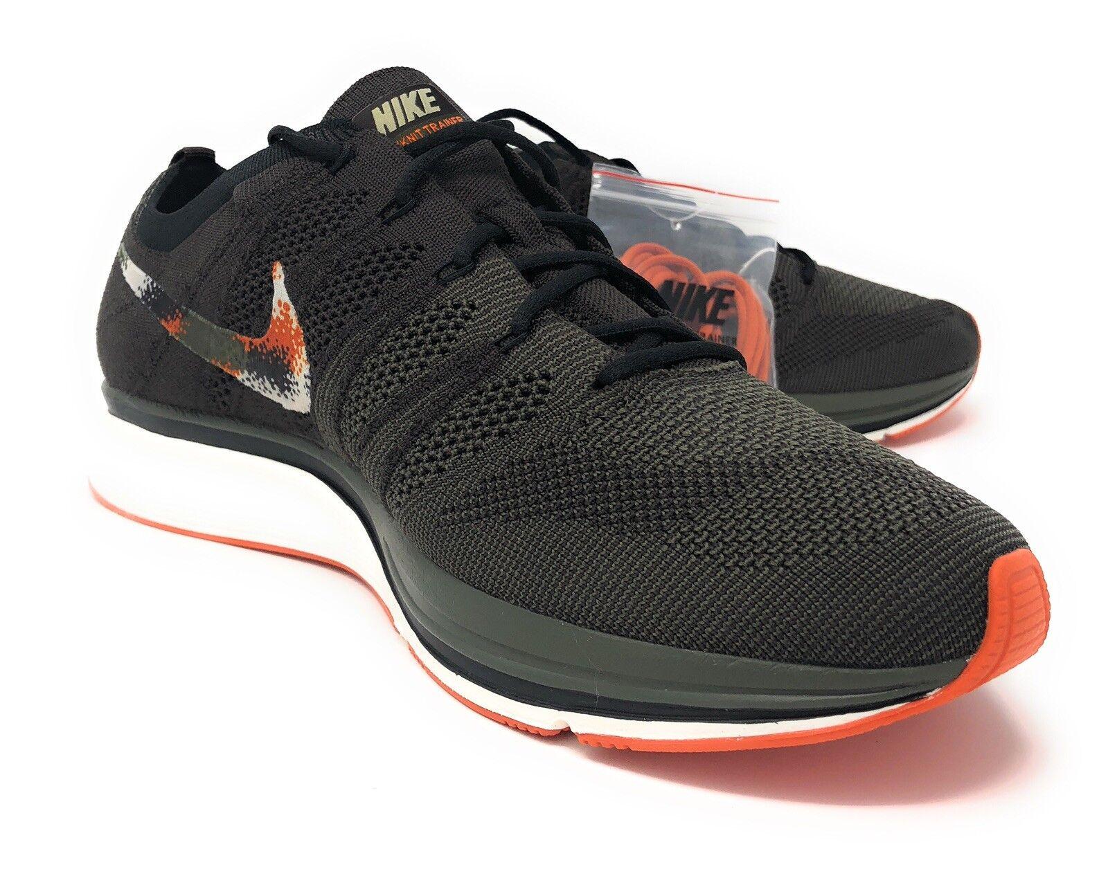 0e2675def0cbb Nike Flyknit Trainer Velvet Brown Brown Brown Neutral Olive - AH8396-202  Size 10.5 Men s