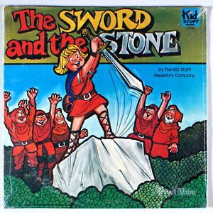 Kid-Stuff-The-Sword-and-the-Stone-1970-SEALED-Vinyl-LP