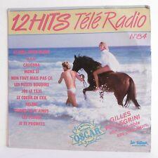"33T Gilles PELLEGRINI Vinyle LP 12"" 12 HITS TELE RADIO N° 84 - TRETEAUX 6569"