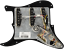 Genuine-Fender-Pre-Wired-Strat-Pickguard-Tex-Mex-SSS-Black-11-hole thumbnail 2