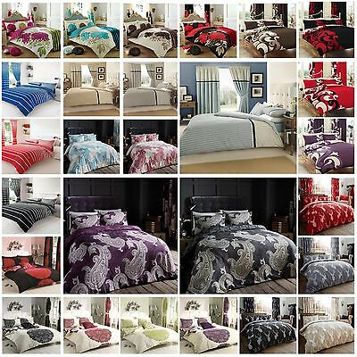 Latest Polycotton Duvet Quilt Cover With Pillowcase Bedding Set All Bedding Size