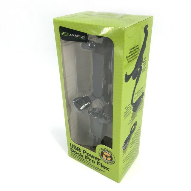 Bracketron Universal USB Power Dock Grip-iT Mount