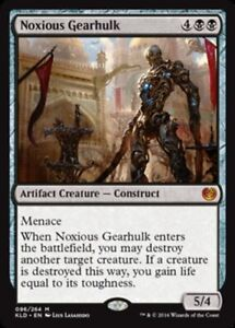 Noxious-Gearhulk-x4-PL-Magic-the-Gathering-4x-Kaladesh-mtg-card-lot