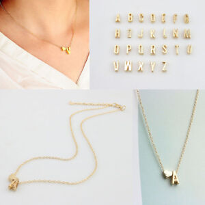 26-Letters-Women-Tiny-Love-Heart-Collier-Choker-Necklace-Pendant-Lovers-Gifts