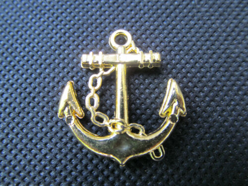 25 x Plastic Anchor Kitsch Jewellery Craft Clothing Charms Silver Gold UK Seller