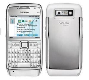 Original-White-Nokia-E71-Unlocked-QWERTY-3G-WIFI-GPS-Camera-Mobile-Bar-Phone