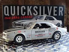 GMP ACME Quicksilver 1968 Chevy Drag Camaro Bill Drevo 1:18 Scale Diecast Car
