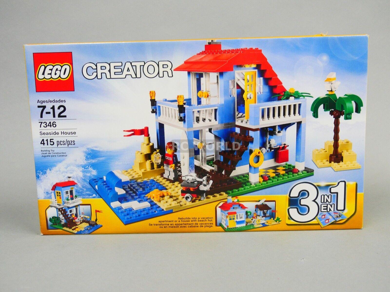 LEGO Creator SEASIDE HOUSE 7346 -COMPLETE-  rt