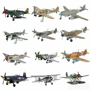Revell-Model-Kits-WW2-Aircraft-Plane-Spitfire-Hurricane-Focke-Wulf-Mustang-1-72