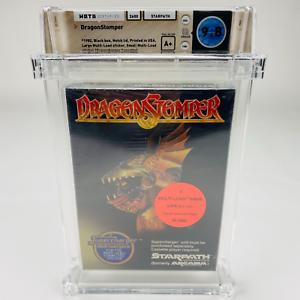 DragonStomper - Atari 2600 Starpath Supercharger 1982 Factory Sealed WATA 9.8 A+