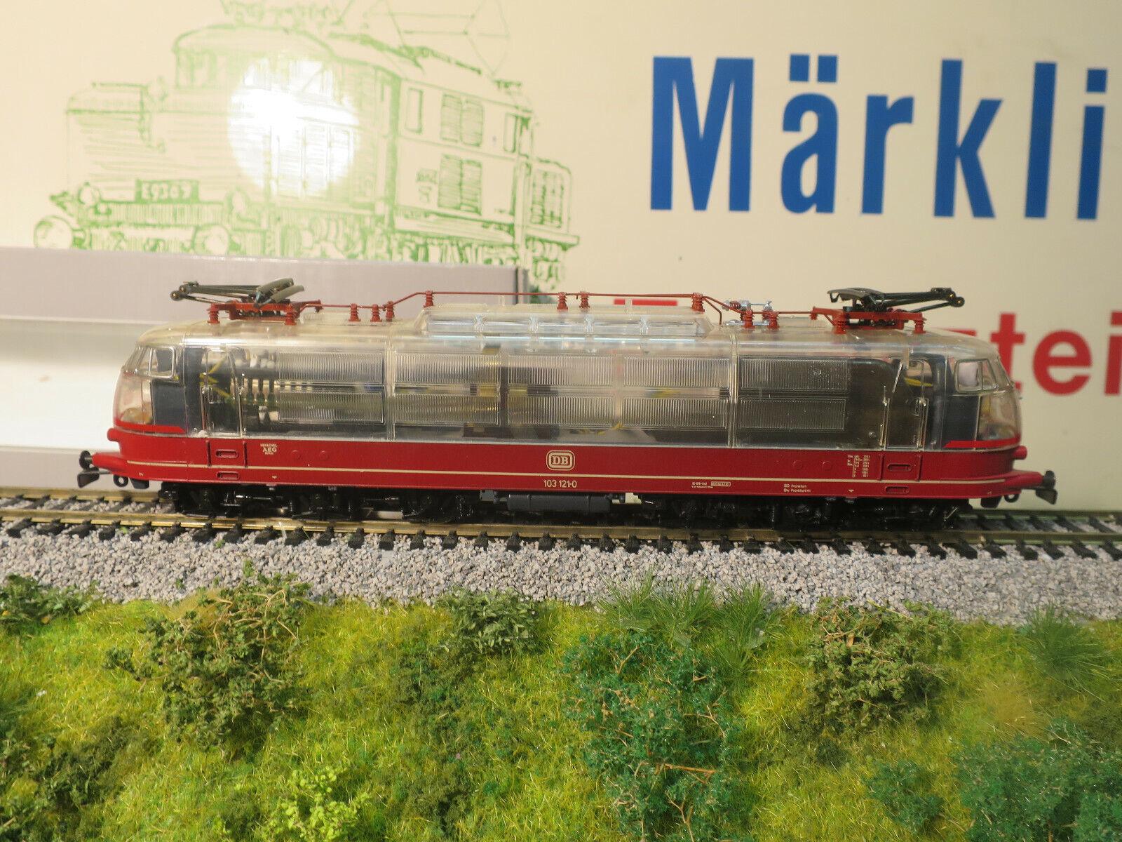 MB marklin 3757 e103 Trasparente Nuovo Ovp da collezione risoluzione TOP Condizione