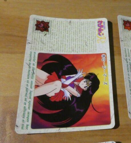 SAILORMOON R JAPANESE CARDDASS CARD REG CARTE 109 MADE IN JAPAN 1993 MINT