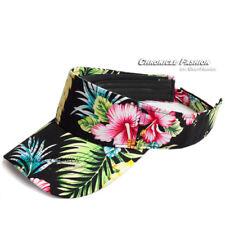 item 2 Sun Visor Hat Cap Adjustable Sports Golf Beach Flower Colors  Hawaiian Floral - Sun Visor Hat Cap Adjustable Sports Golf Beach Flower  Colors Hawaiian ... 32d2abdfade