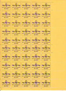1971 STRIKE MAIL CITY OF LONDON 10p GOLD COMMEMORATIVES IN FULL SHEET OF 50 MNH - <span itemprop='availableAtOrFrom'>Weston Super Mare, Somerset, United Kingdom</span> - If the item you received has in any way been wrongly described or we have made a mistake regardless of the nature we will pay your return postage costs. If however the - <span itemprop='availableAtOrFrom'>Weston Super Mare, Somerset, United Kingdom</span>