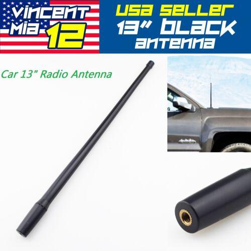 Cars Radio Antenna Aerial Mast Black Reception AM//FM For Toyota Tundra 2000-2016