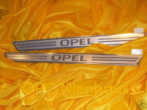 OPEL Einstiegsverkleidung KURZ 2er Set 13466724 Insignia-B