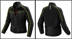 Spidi-GB-H2out-Inter-Cruiser-Black-Fluo-Yellow-Motorcycle-Bike-Waterproof-Jacket