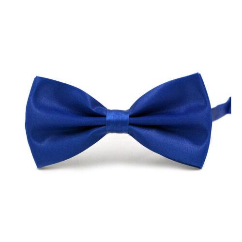 23 Styles Adjustable Men Bow Ties Neck Clip-on Satin Dickie Fancy Dress Wedding