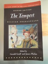 The Tempest : A Case Study in Critical Controversy by James Phelan and William Shakespeare (2008, Trade Paperback)